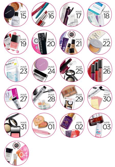Ulta 21 Days of Beauty Spring 2015