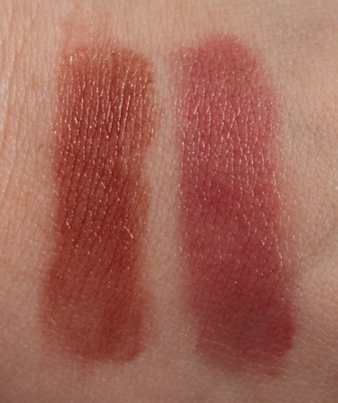 L-R: Nude Medium and Berry Medium