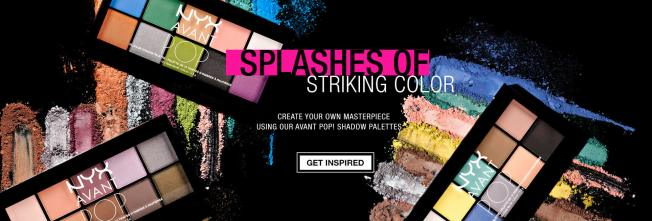 NYX Avant Pop! Shadow Palettes