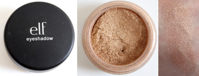 e.l.f. Mineral Eyeshadow in Golden