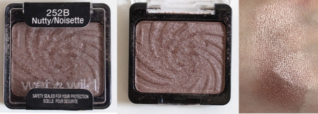 Wet n Wild Coloricon Single Eyeshadow in Nutty
