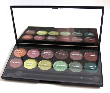 Sleek I-Divine Eyeshadow Platte in Garden of Eden