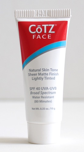 CoTZ Face Natural SPF 40