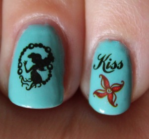 Ariel Water Decals