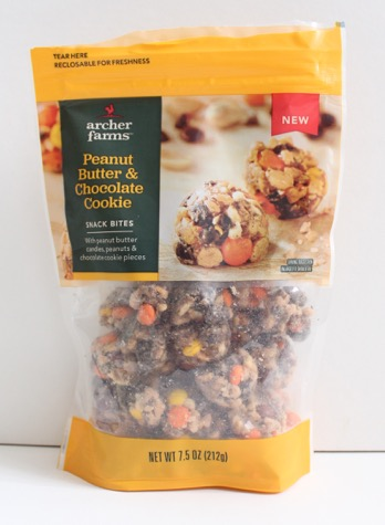 Archer Farms Peanut Butter & Chocolate Cookie Snack Bites