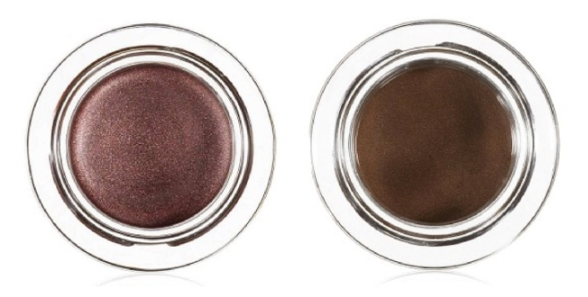 e.l.f. Essential Smudge Pot Cream Eyeshadow in Wine Not and Coco Cutie