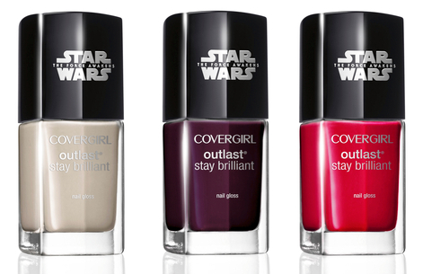 CoverGirl Star Wars Limited Edition Outlast Stay Brilliant Nail Glosses