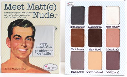 TheBalm Meet Matte Nude Palette