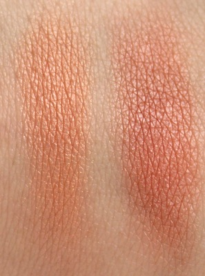Sephora Collection MicroSmooth Baked Blush Duo in Tangerine Tease