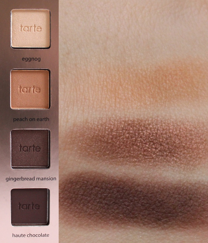 Top-Bottom: Eggnog, Peach on Earth, Gingerbread Mansion, Haute Chocolate