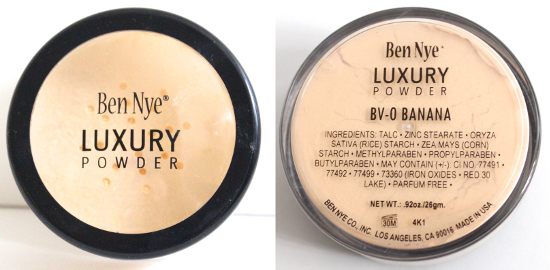 Ben Nye Luxury Powder in Banana