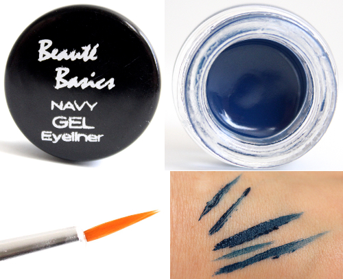 Beaute Basics Gel Eyeliner with Gel Eyeliner Brush