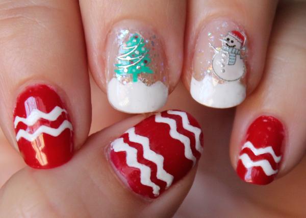 Christmas Wonderland Manicure
