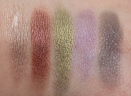 MUA Professional Metallic Eyeshadow Palette