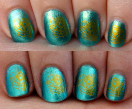 Gold Stamping Polish from the Born Pretty Store