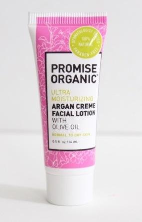 Promise Organic Ultra Moisturizing Argan Creme Facial Lotion