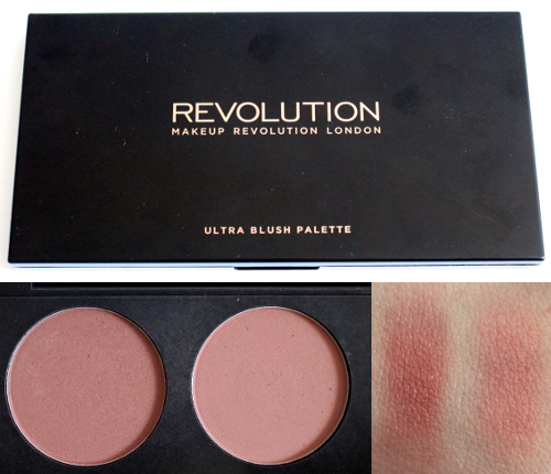 Makeup Revolution Ultra Professional Blush Palette in Sugar and Spice