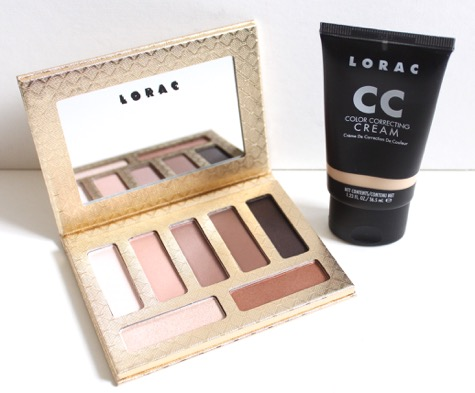 LORAC Riesling Romance Palette and CC Cream