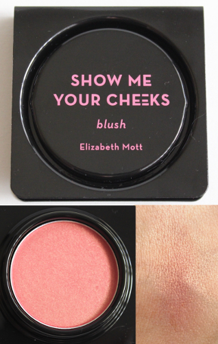 Elizabeth Mott Show Me Your Cheeks Blush in Peach Pink
