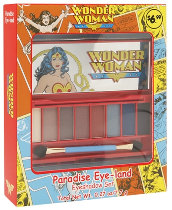 Wonder Woman Paradise Eye-Land Eyeshadow Set