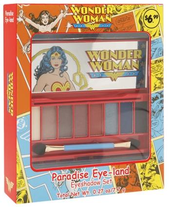 Wonder Woman Paradise Eye-Land Eyeshadow Set