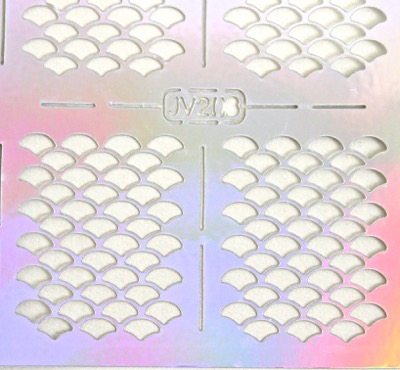 Fish Scale Nail Vinyls