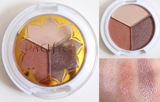 Pacifica Natural Mineral Coconut Eye Shadow Trio