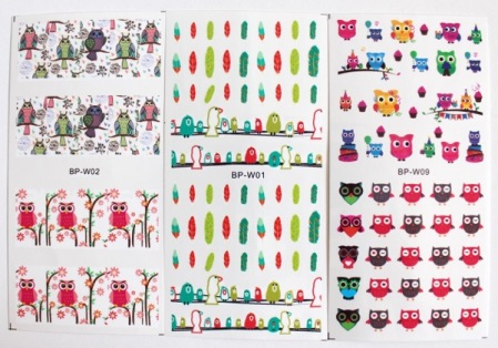 BPS 10 Piece Water Decal Set