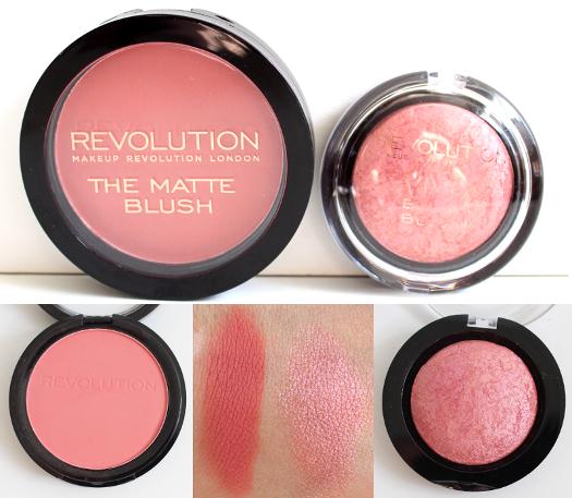 Makeup Revolution Blushes